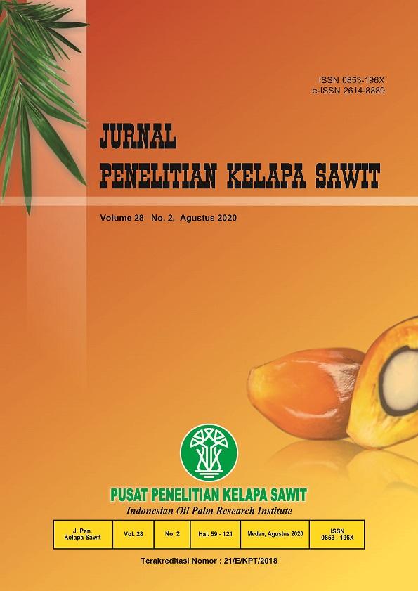 #jurnal penelitian kelapa sawit #Indonesian Journal of Oil Palm Research #pusat penelitian kelapa sawit #indonesian oil palm research institute